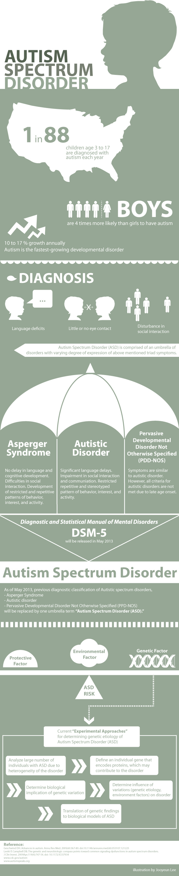 Autism Spectrum Disorder: An Infographic | Knowing Neurons