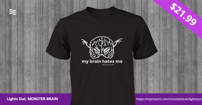 Lights Out, MONSTER BRAIN Tee